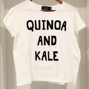 🛍 MINKPINK Quinoa And Kale T-Shirt